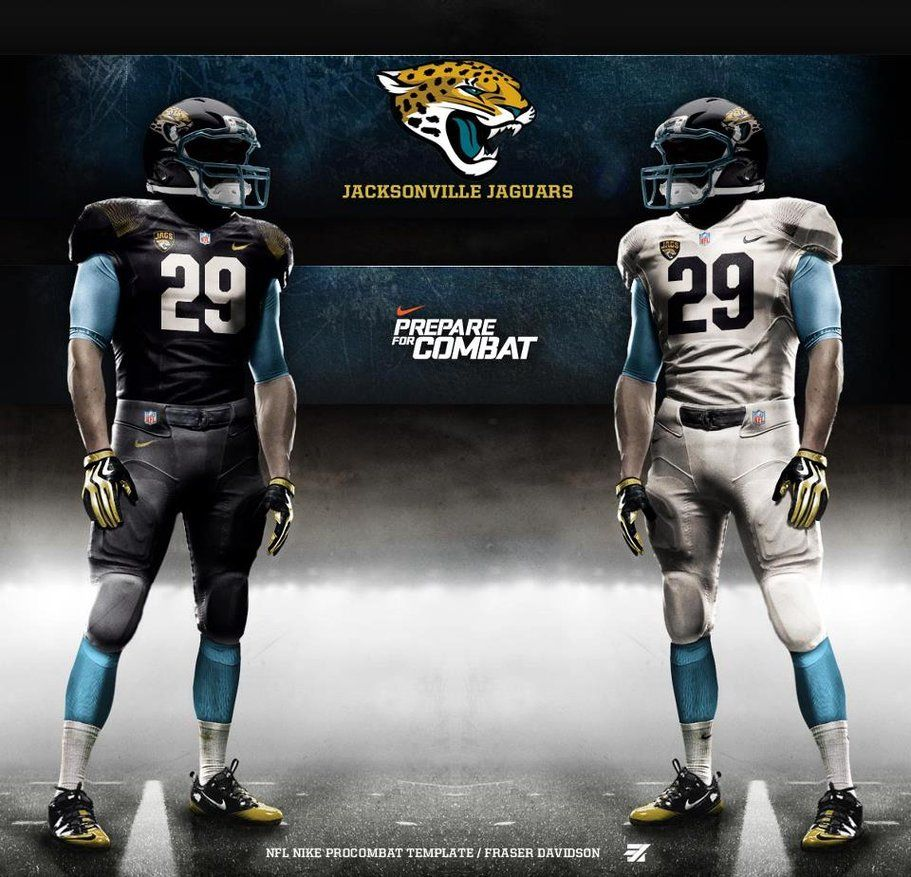 new style c3d7e f05bb Check Out the Jacksonville Jaguars Cool New Uniforms | 2016 ...