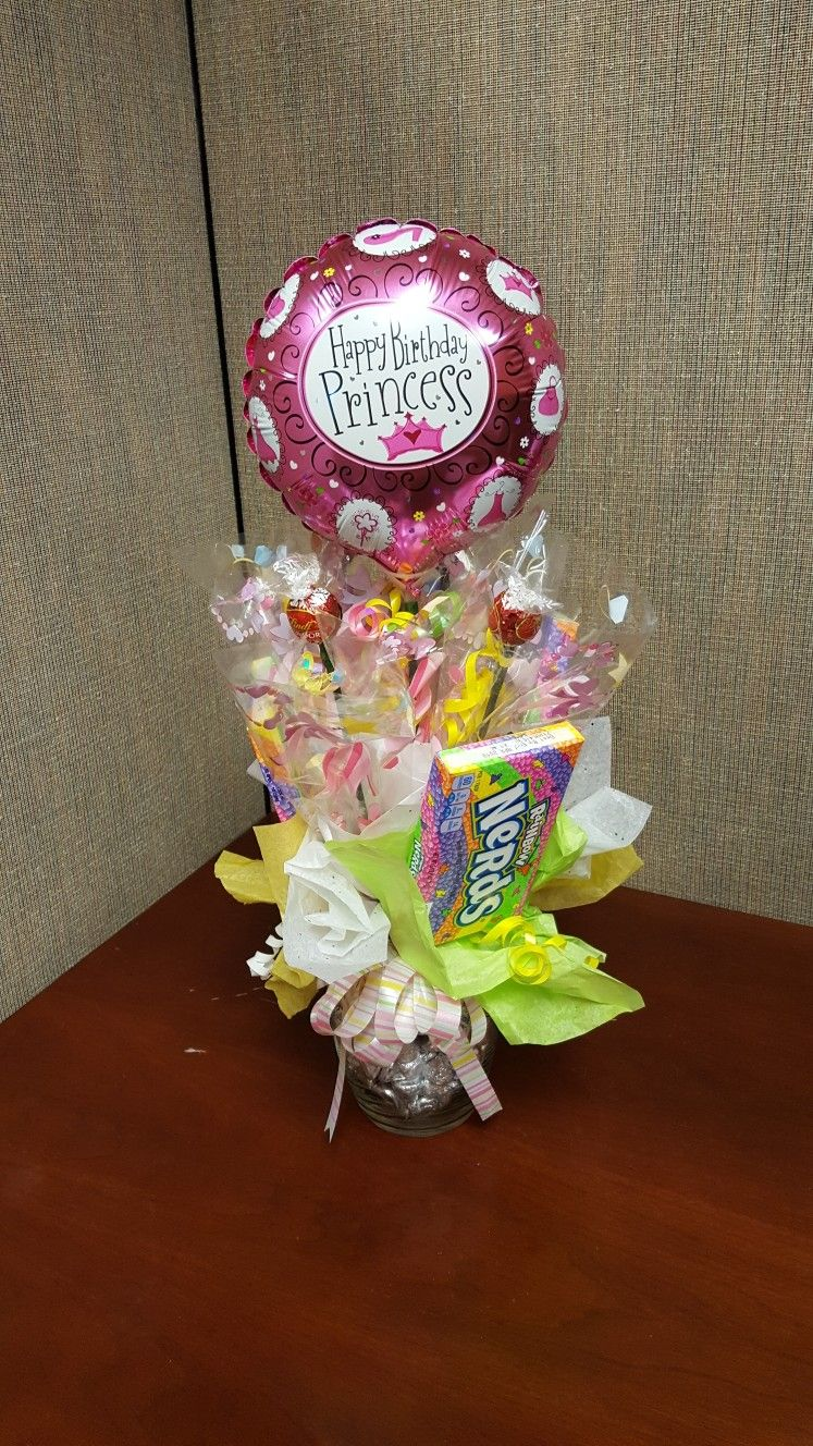 Birthday candy bouquet my creations pinterest birthday candy