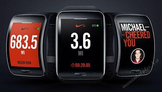 #samsung #teknoloji #gears #nikerunning  Samsung, Gear S Nike+ Running Uygulamasını Duyurdu