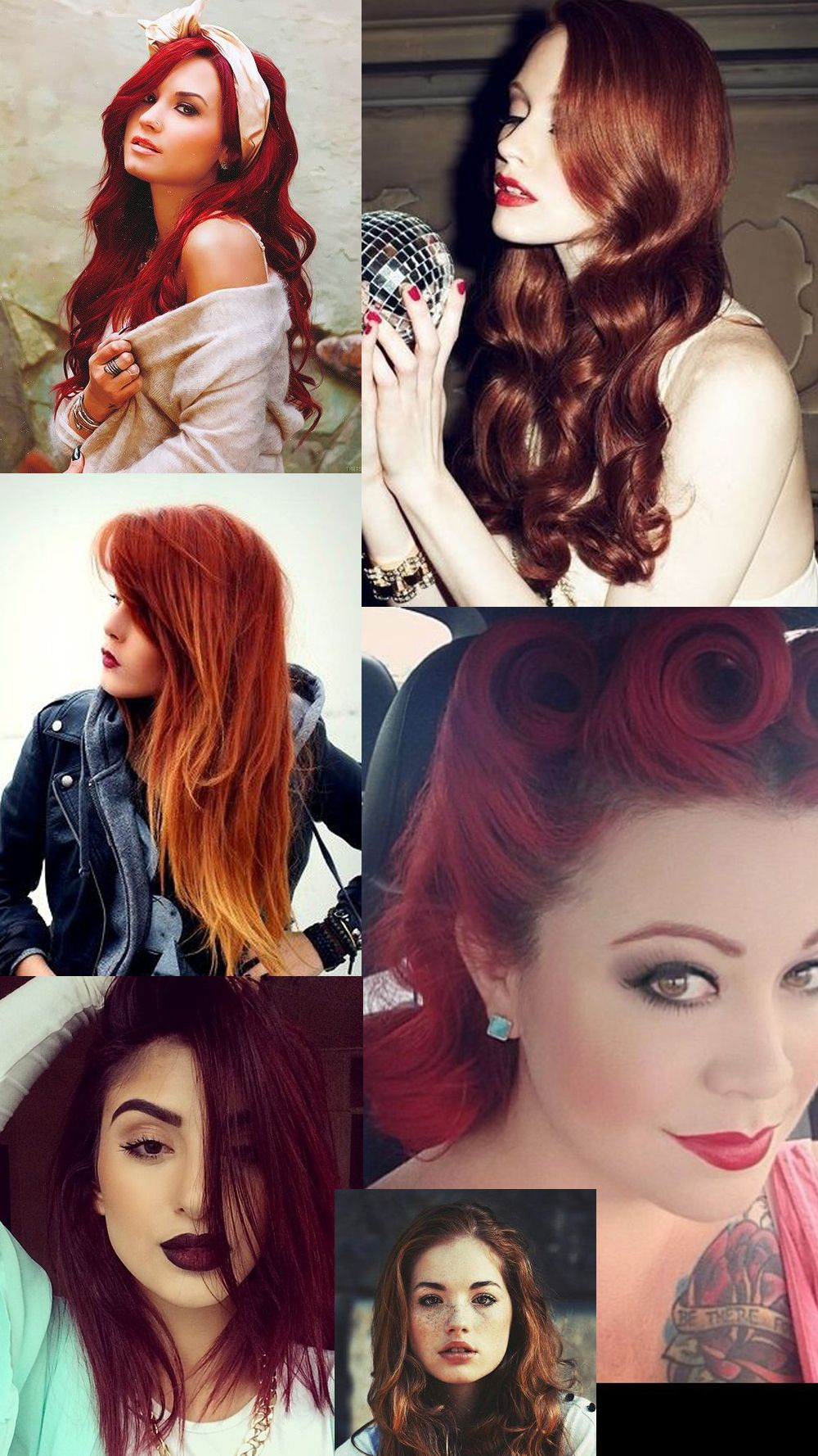 Tag: Red Hairstyles