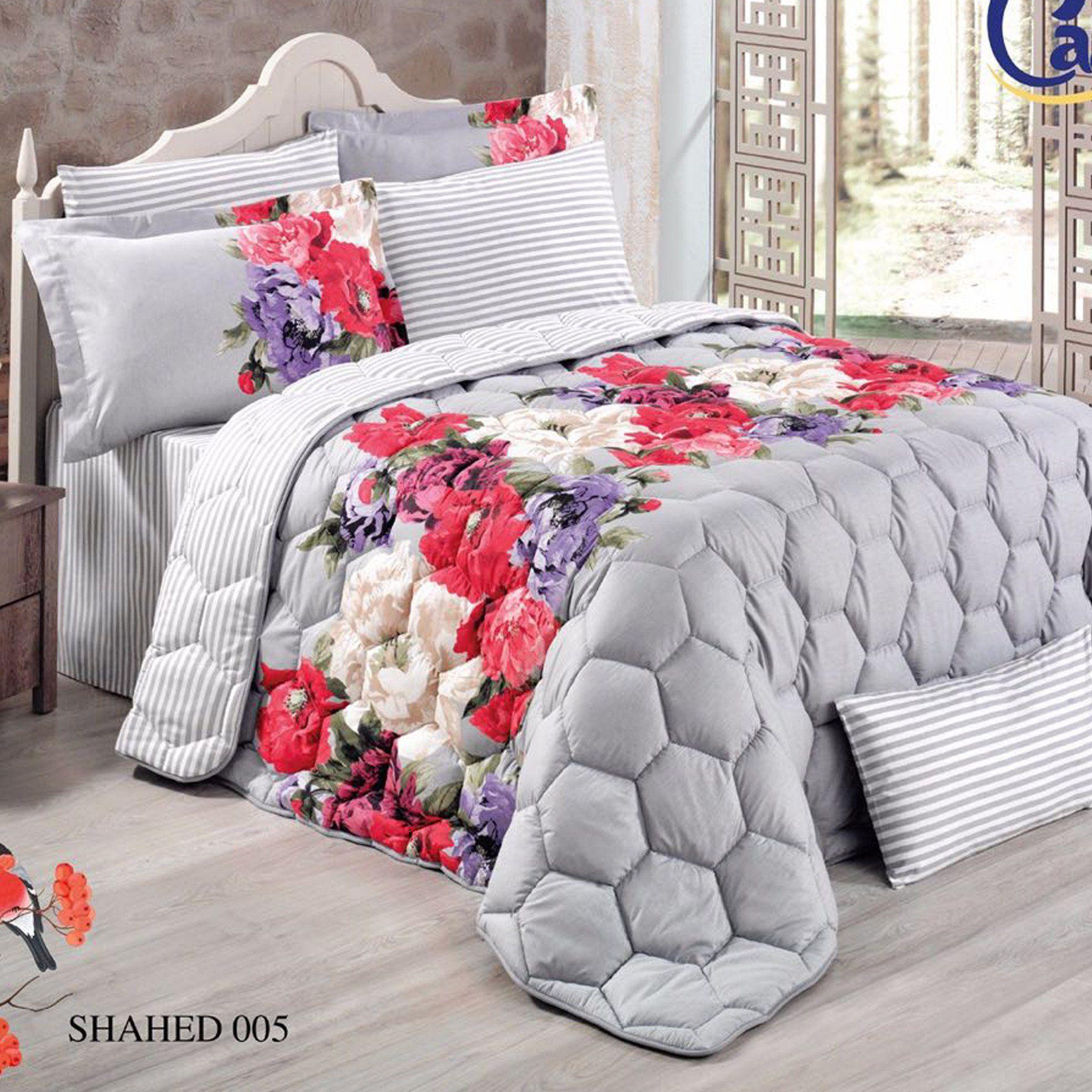 مفرش روز لاند التركي Summer Bedding Bed Blanket