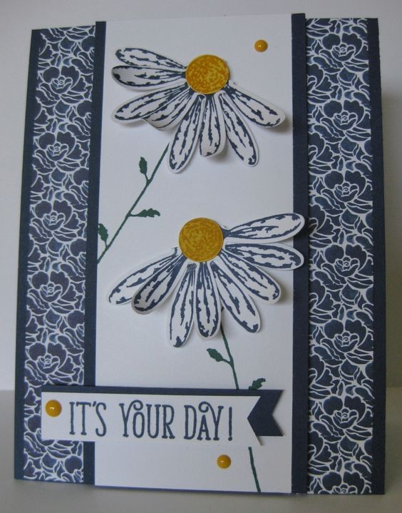 Barb Mann Stampin' Up! Demonstrator - SU - Daisy Delight, Happy Birthday Gorgeous - Inspired by Cindy Brumbaugh