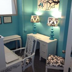 tiffany blue office. Tiffany Blue, White And Black Small Office Known As The \ Blue E