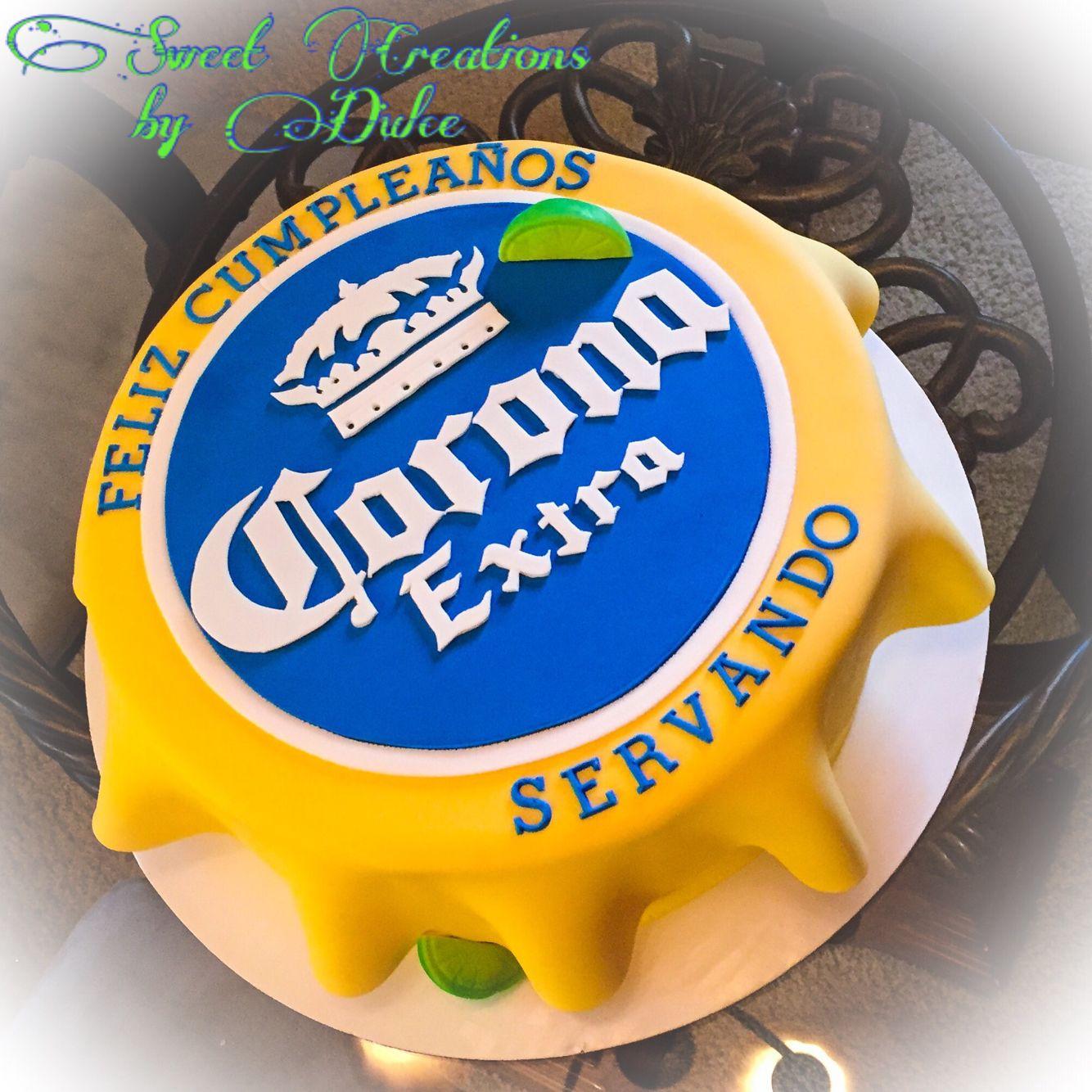 Corona Lid Cake Birthday Cakes 21st Bday Cake 21st