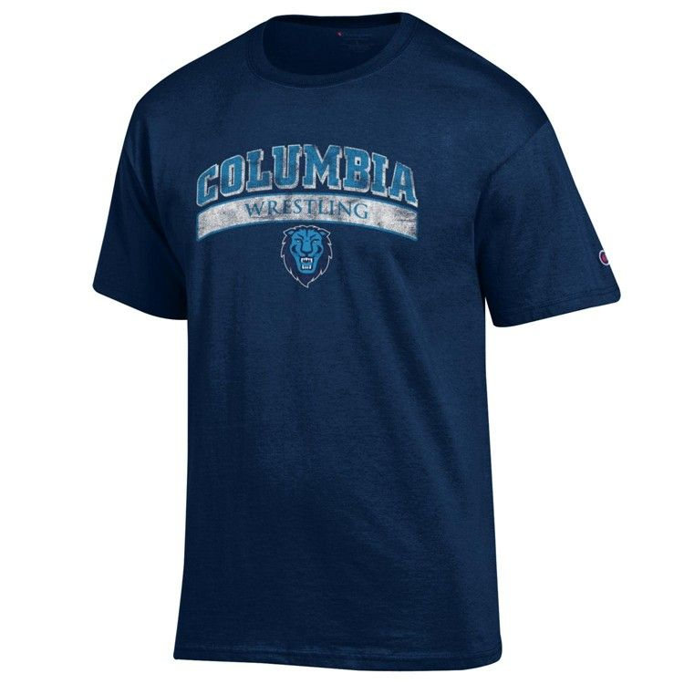 Columbia university lions wrestling tshirt ncaa apparel