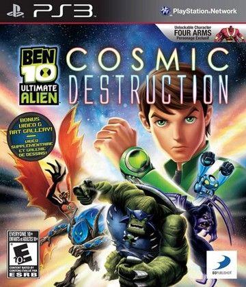 Ps3 Ben 10 Ultimate Alien Cosmic Destruction Ben 10 Ultimate Alien Ben 10 Alien