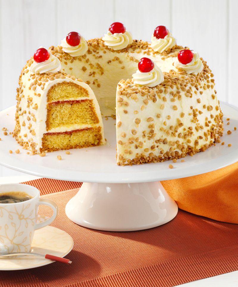 Deutsche Kuchen Rezepte: Schneller Kranz Frankfurter Art
