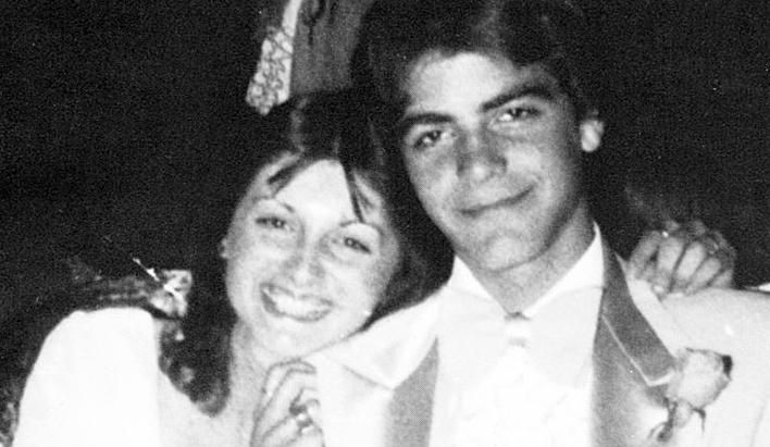 When you got it, you got it. Even in high school, George Clooney was a magnet for women in his tuxedo. This photo was taken at his senior prom at Augusta High School in Augusta, Ky., 1978. (Seth Poppel/Yearbook Library )