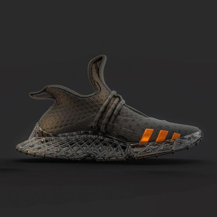 Adidas concept trainer mimics the effect of running on sand