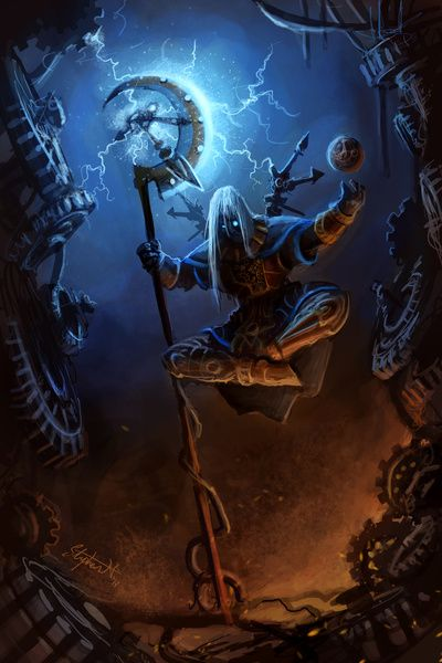 Smite Chronos Build Guide Chronos Freeze Your Enemy In Time Hog Update Tested Smitefire Dark Fantasy Art Fantasy Artwork Fantasy Wizard