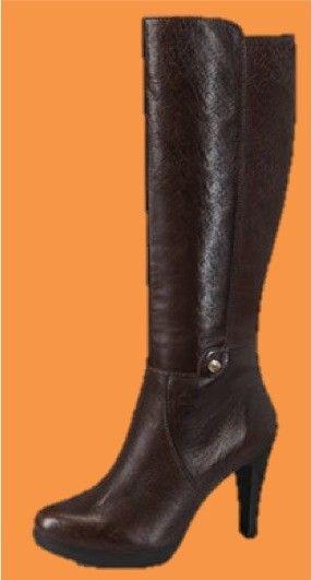 Bota tipo ecuestre Carlo Rossetti Super elegante y a la moda Bota de Piel  Napa Altura  7-9 cm. Color Café. Encuentra precios y detalles en  Magniplaza.com 838c22528cdd5