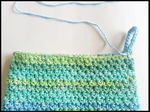 How to Crochet an Easy Peasy Potholder, Free Crochet Pattern   Cowl ...