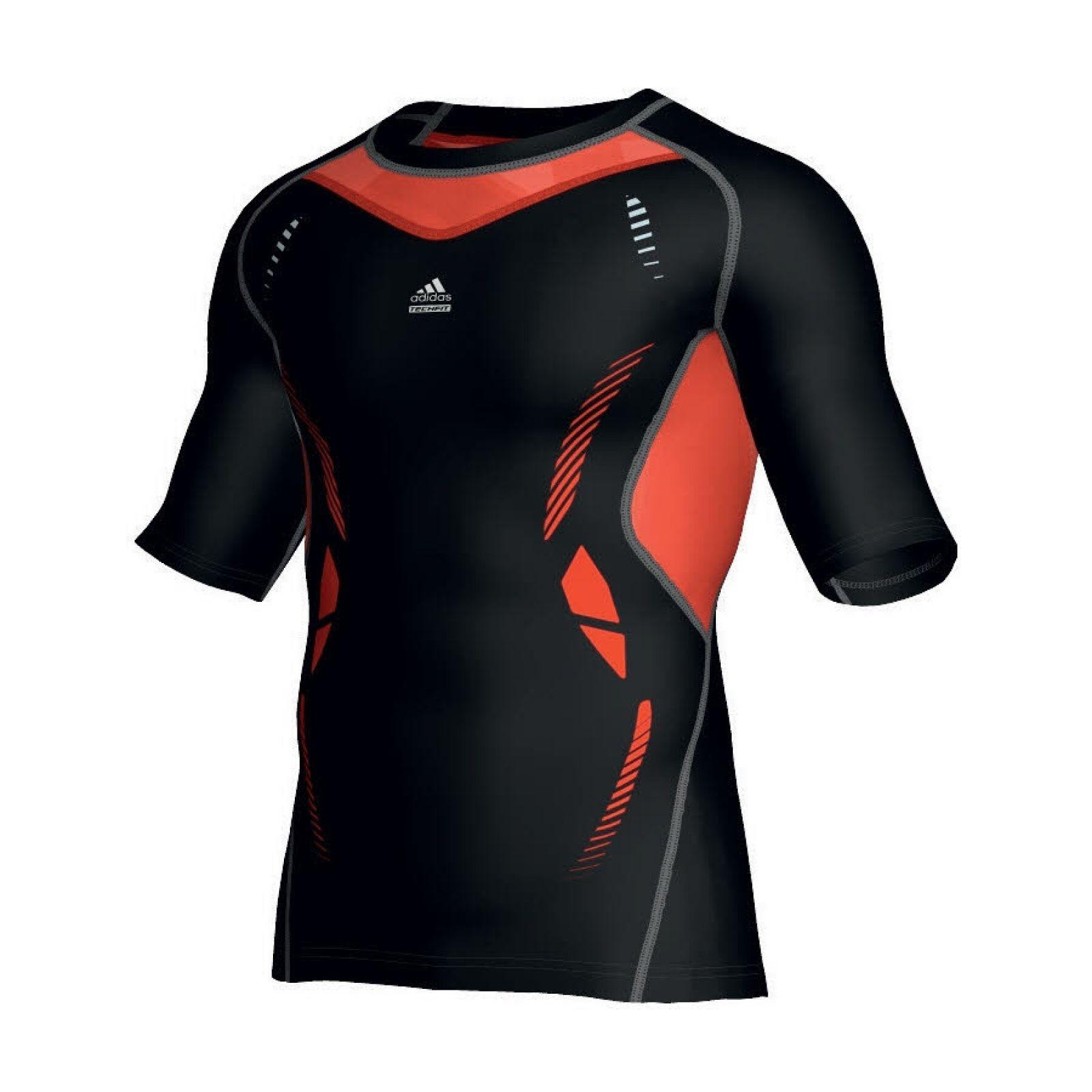 BLK Uomo Base Layer Top Abbigliamento Team Sport