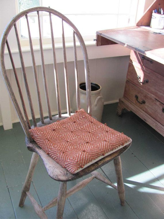 Pillow For Chair Seat Cushion Pad Back Support By Aclhandweaver, $125.00