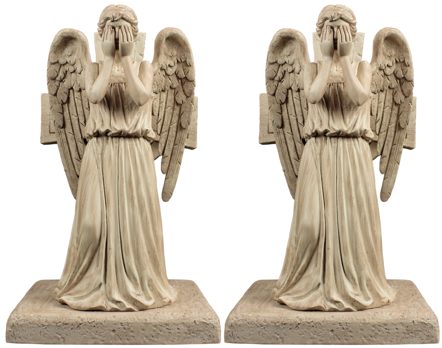 Doctor Who Weeping Angel Bookends Set Of 2 Doctor Who Doctor Who Tardis Weeping Angel