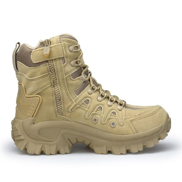 06f5a385b15 Military Tactical Boots Desert Combat Outdoor Army Hiking shoes ...