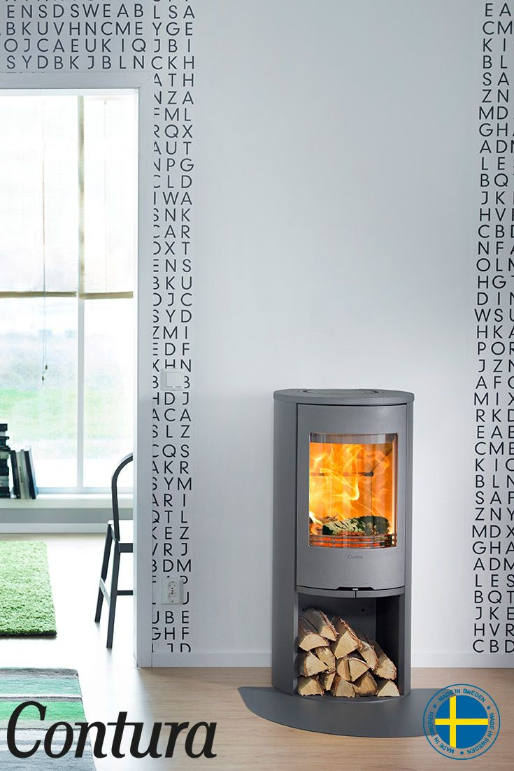 Wood Burner · The Contura 510 Style Stove With Cast Iron Door Has Been  Rejuvenated In Style, With