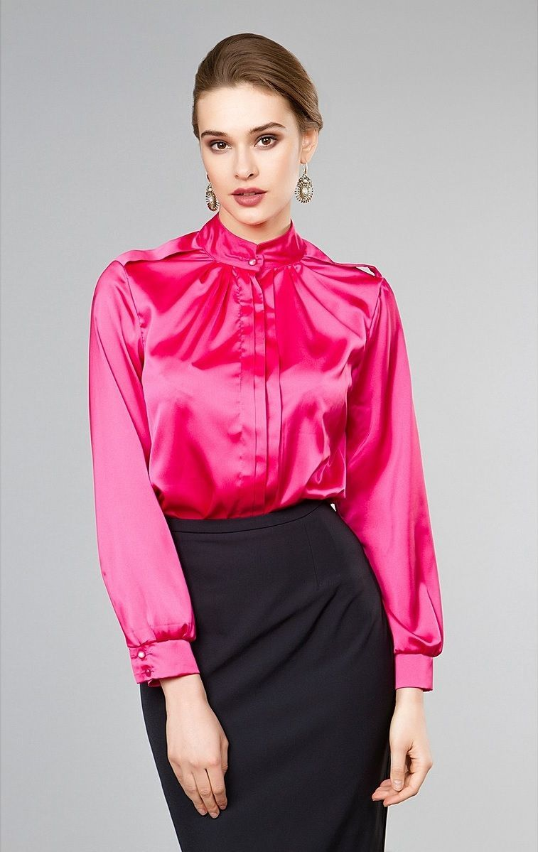 Pin By Robert Schweizer On Satin Blouse Pinterest Blouses Dress Wanita Viva And Dresses