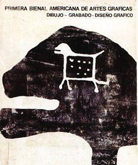 Catalogo de la Primera Bienal de Artes Graficas, Dibujo, grabado, diseño grafico - Museo de Arte La Tertulia, Cali