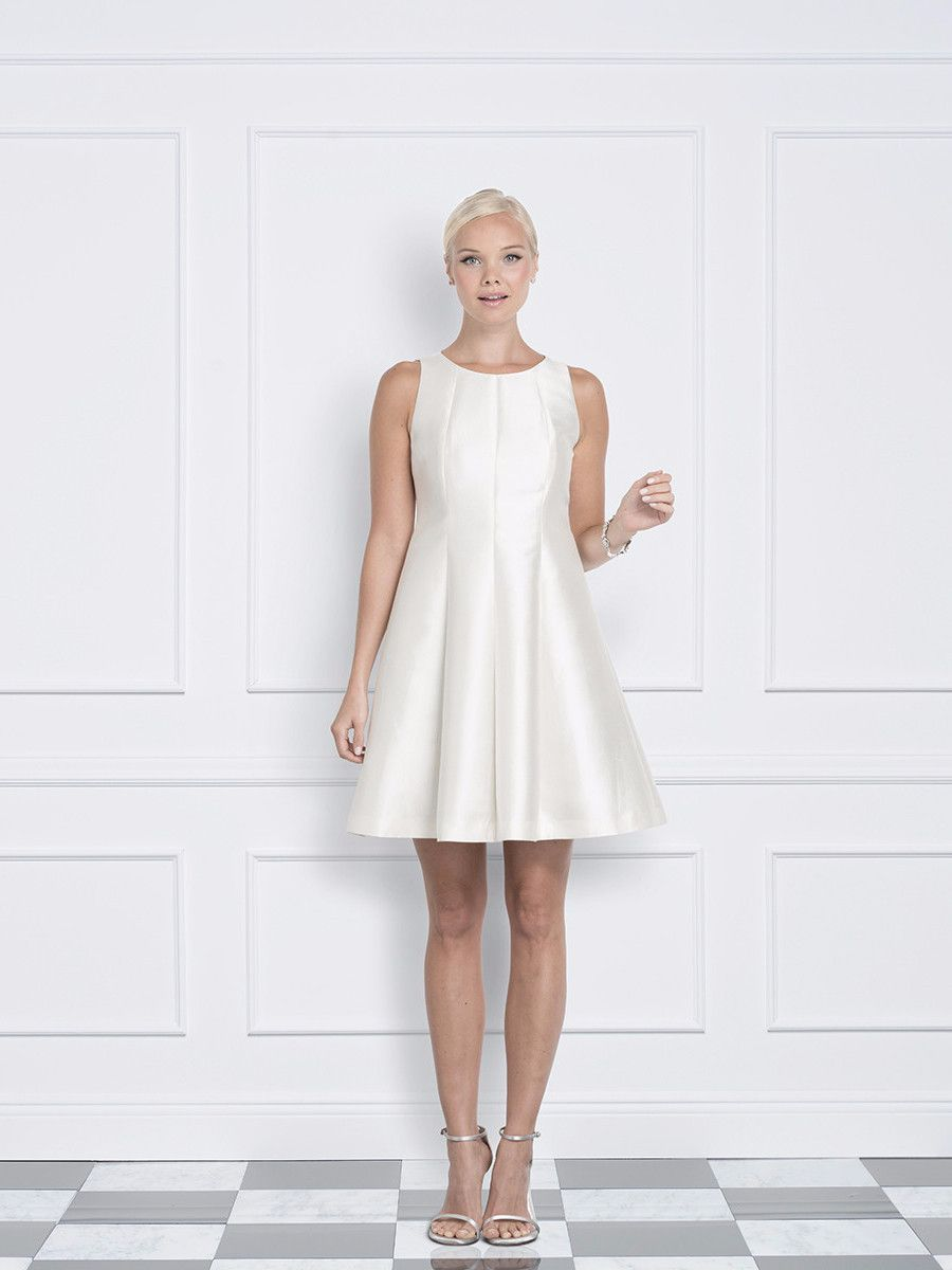 Della off white dress for a wedding or cocktail party