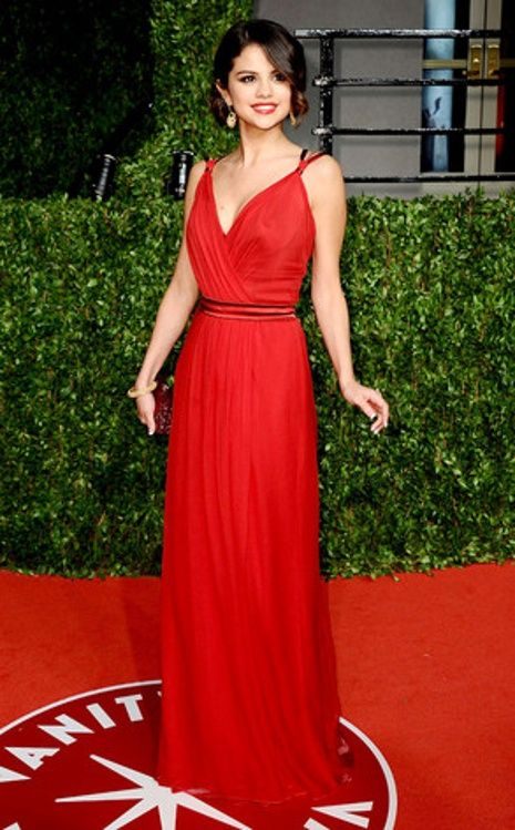 1eea84d8d9d Crimson Delight from Selena Gomez s Best Looks