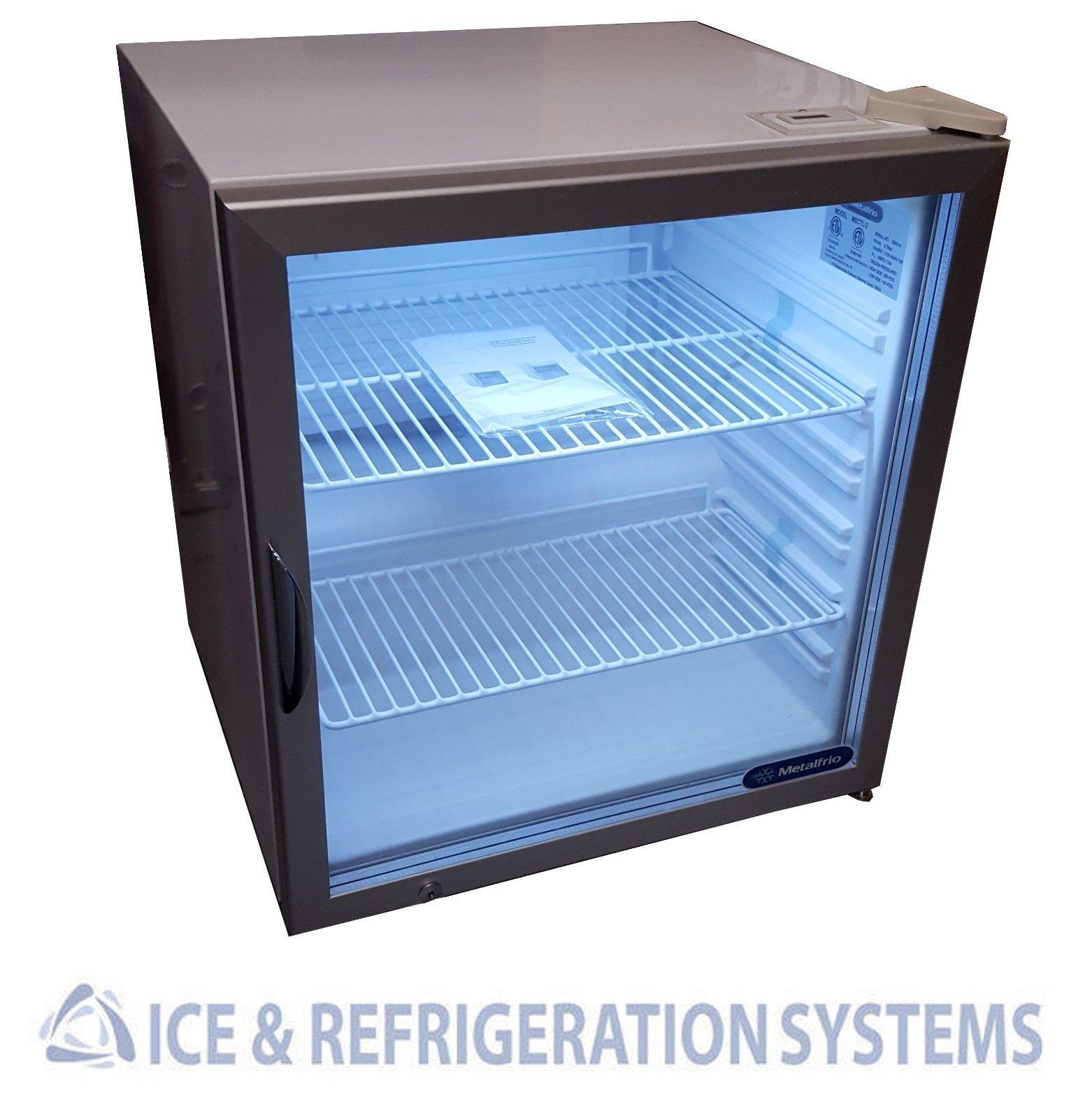 Metalfrio Commercial Countertop Glass Door Refrigerator Cooler