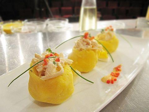 Causa Rellena Peruvian Recipes Party Snack Food Holiday Recipes