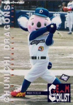 閲覧注意 ドアラ つば九郎ほか プロ野球 球団マスコットの昔の姿