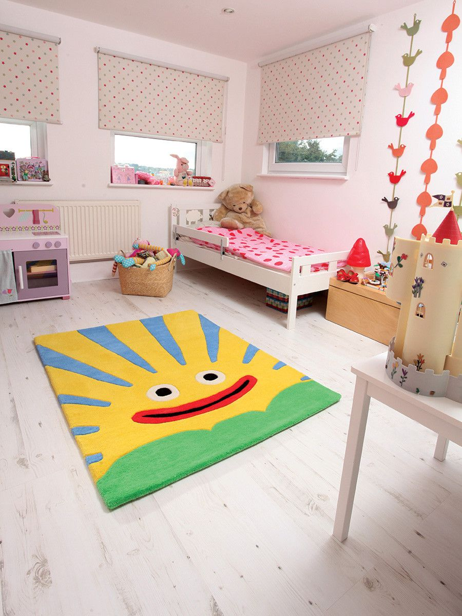 this sunshine rug will bring joy and happiness to every. Black Bedroom Furniture Sets. Home Design Ideas