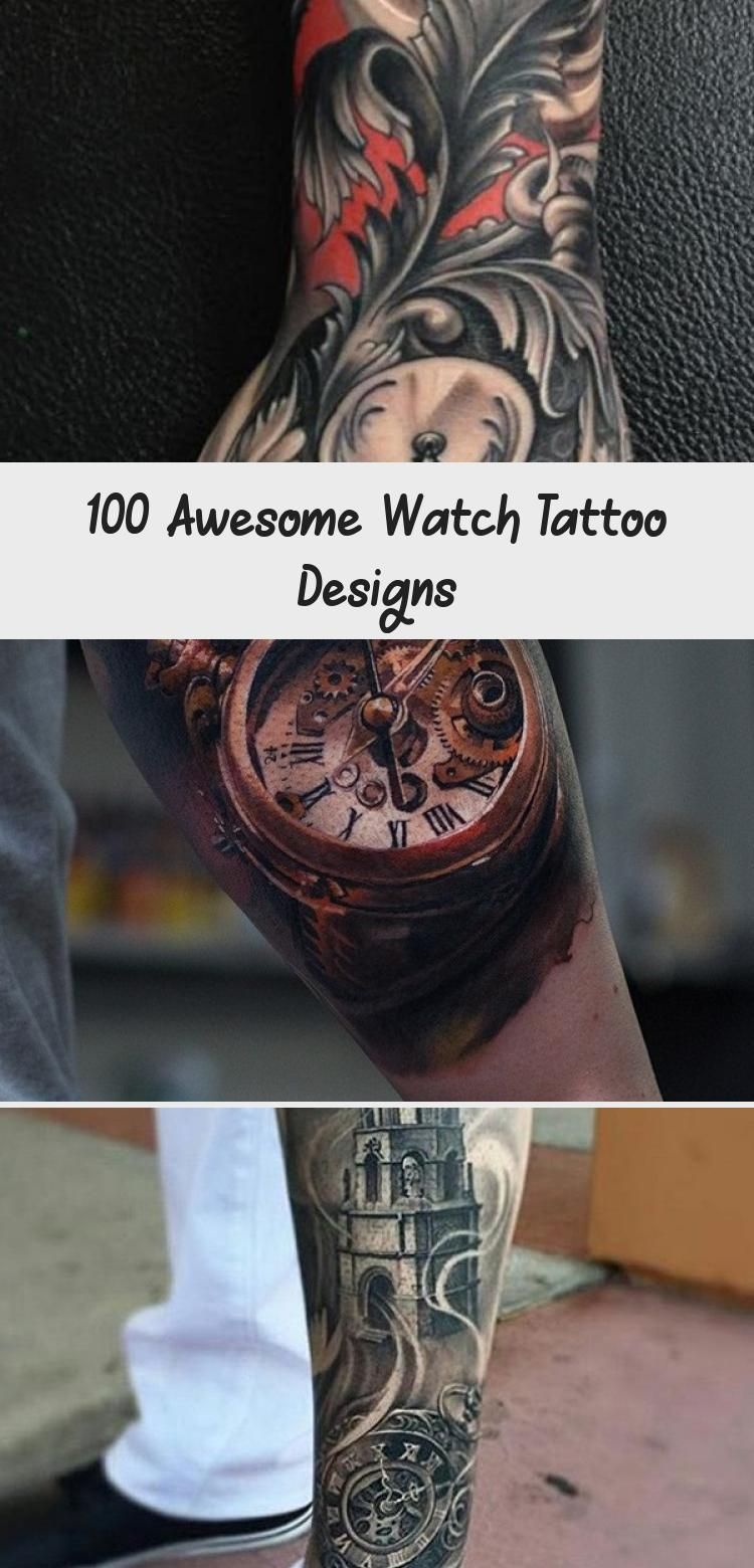 Photo of 100 Awesome Watch Tattoo Designs – Tattoos