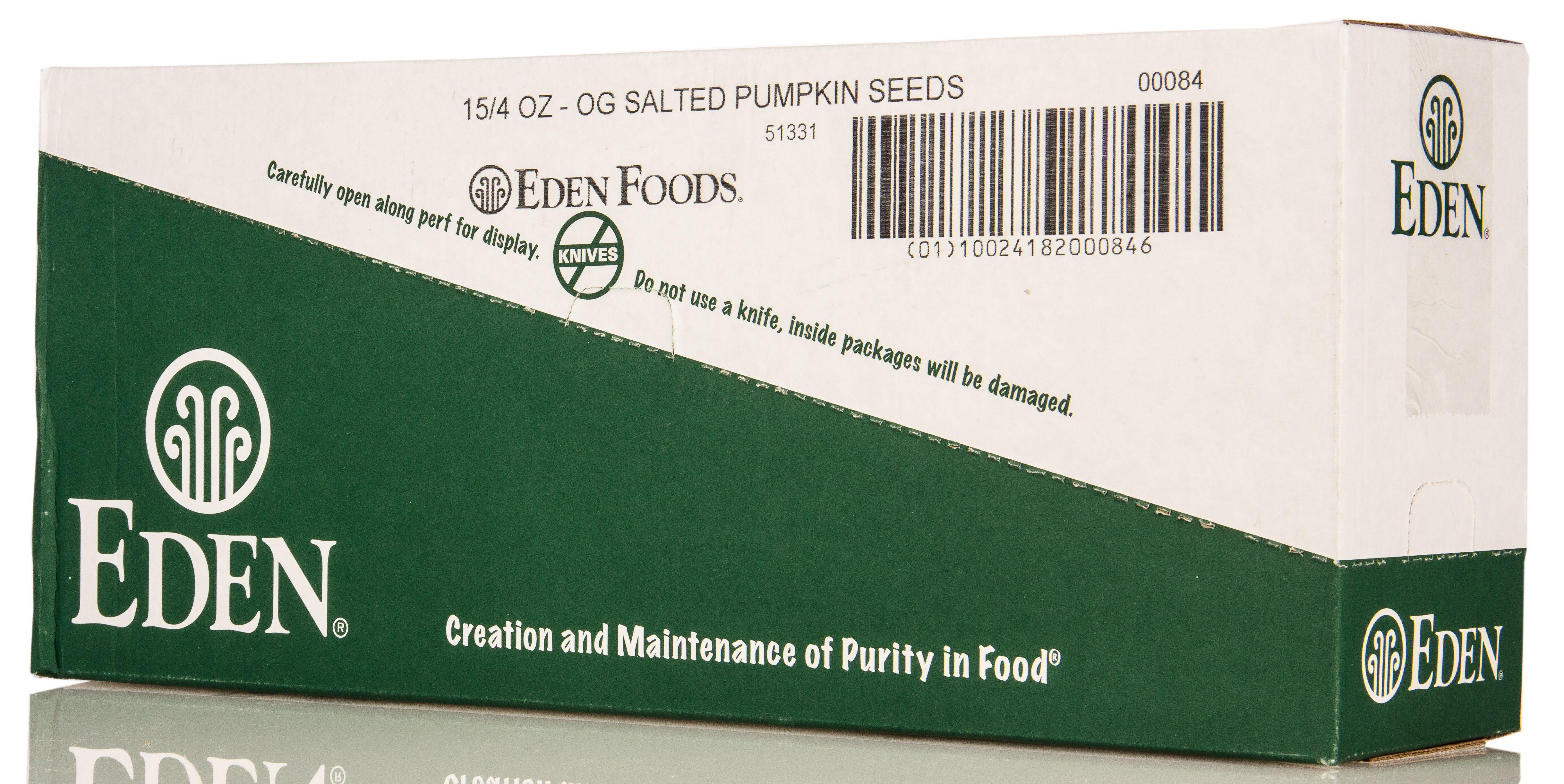 Eden Foods Pumpkin Seeds, Dry Roasted, Organic #roastedpumpkinseeds