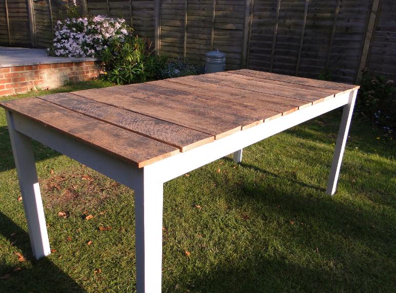 Reclaimed Wood Outdoor Table Outdoor Wood Table Diy Outdoor