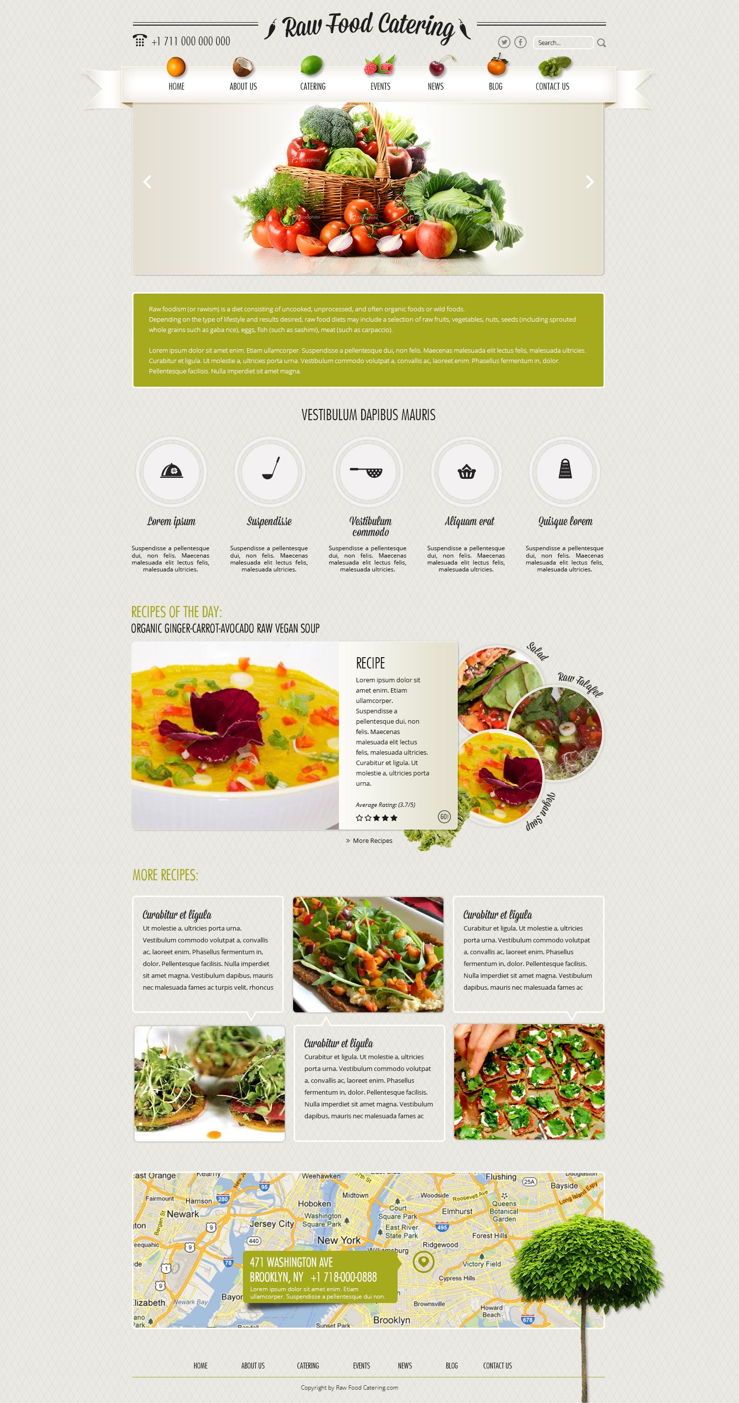 Raw Food Ii By Webvilla On Deviantart Web Development Design Wordpress Web Design Web Layout Design