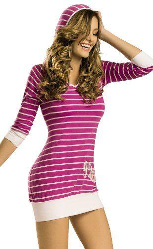 f5c9fbe1e886 Adriana Arango Women s Hooded Chemise Pajama « Clothing Impulse ...