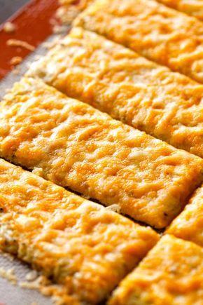 Cheesy Garlic Cauliflower Bread Sticks Recipes Bariatric Recipes