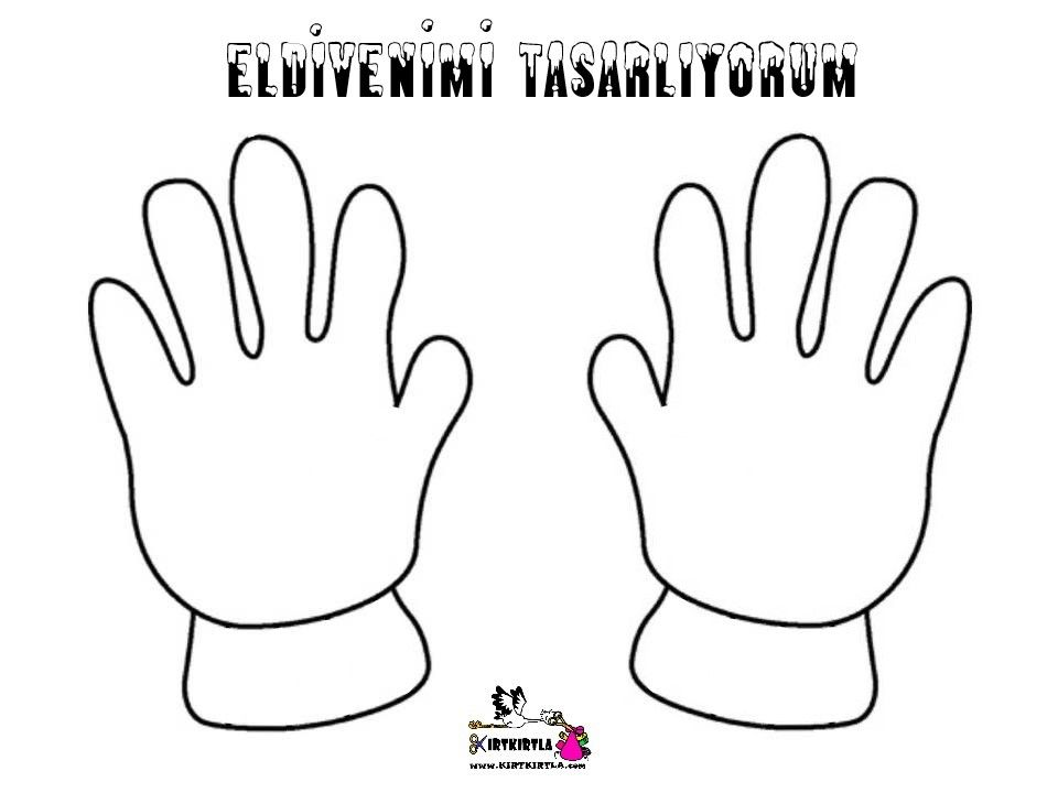 Eldiven Tasarimi Glove Design Eldiven Tasarim Boyama Sayfalari