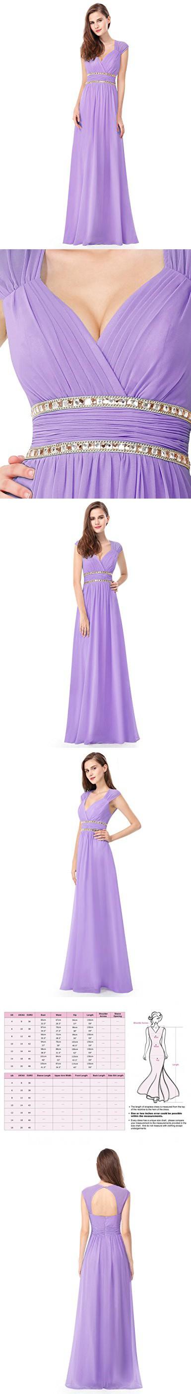 Ever Pretty Womens Elegant Cap Sleeve Floor Length Grecian Style ...