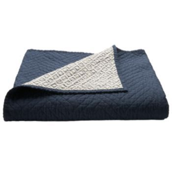 Kohls Throw Blankets Amusing $25 Perfect Quilted Navy Throw For The End Of My Bed Httpwww Decorating Design