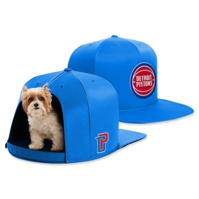 NBA Detroit Pistons NAP CAP Small Pet Bed Multi in 2019  d867bfdd3