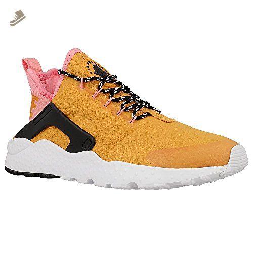 7bc81cbfb79 Nike Women's Air Huarache Run Ultra SE Gold Dart/Black 859516-700 ...