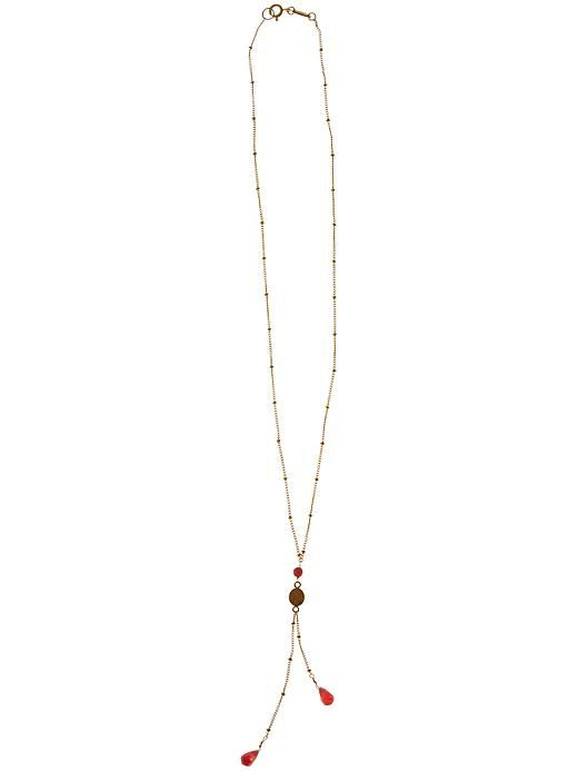 Tree Lariat Necklace by Satya - Feel open to new experiences whenever you wear this lariat-style necklace with free-swinging ends.