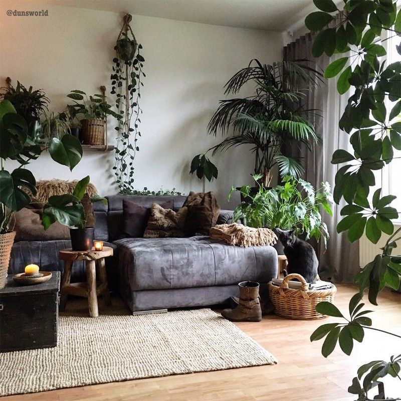 New Stylish Bohemian Home Decor And Design Ideas Living Room Plants Zen Living Rooms Interior Design Living Room #zen #living #room #decorating #ideas