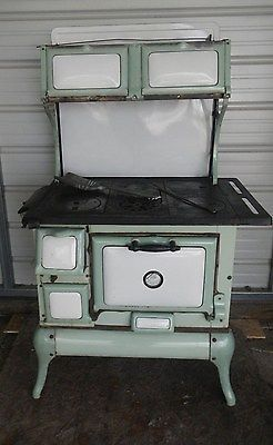 Montgomery Ward And Company Wood Burning Cook Stove Trojan