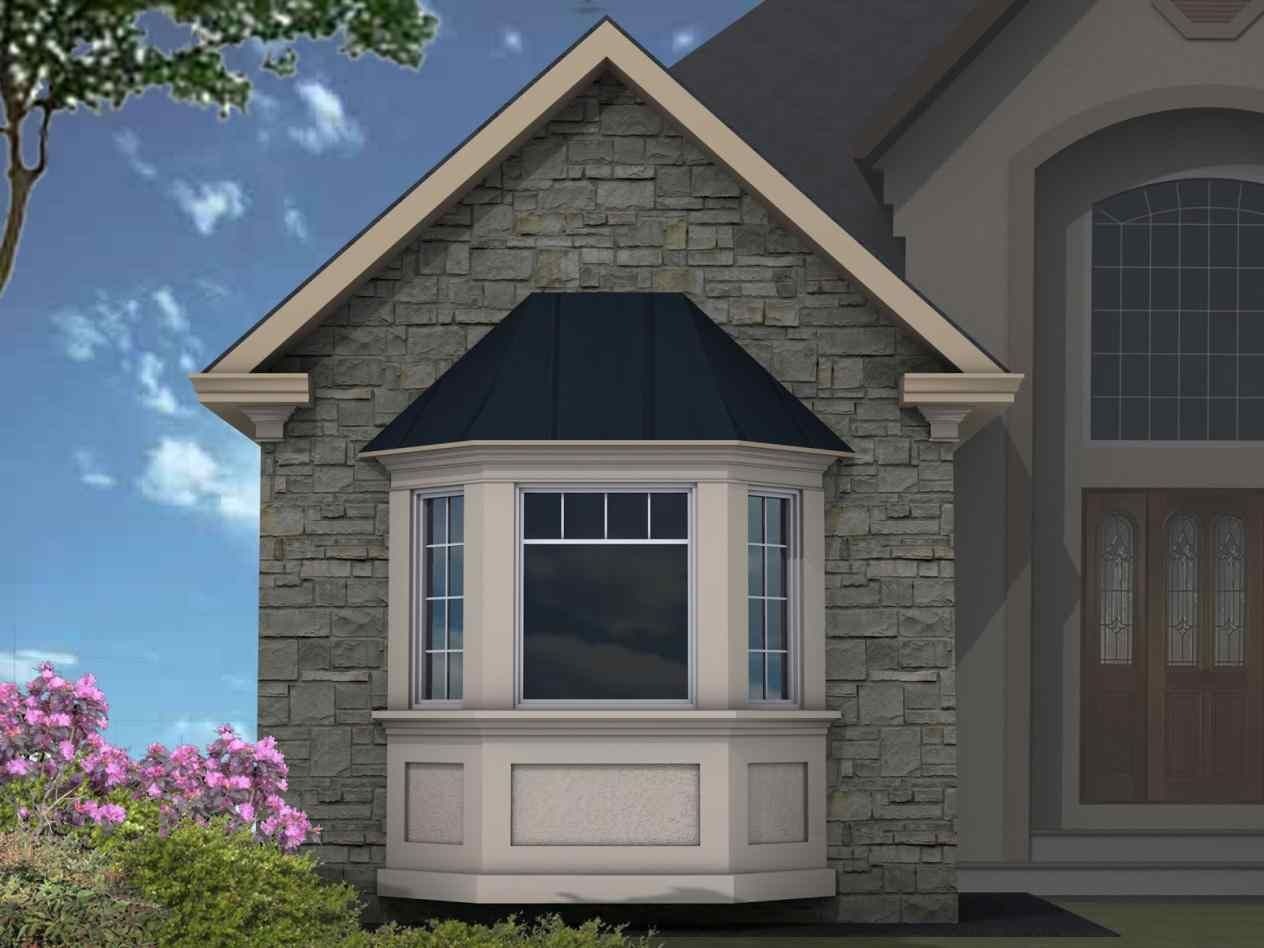 Sp3 Bay Window Canopy Some Of The Other Details That I Find Really Engaging Are Transom Windows Both Over Front Door And In