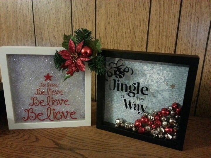 Best Shadow Box Ideas Pictures Decor And Remodel Christmas Shadow Boxes Christmas Box Frames Xmas Crafts
