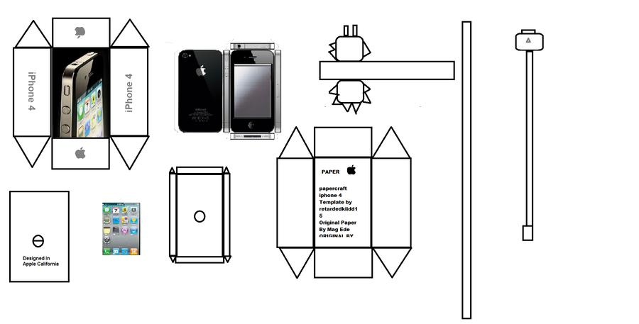 Papercraft Iphone  By Paperkraft  Paper Craft Templates