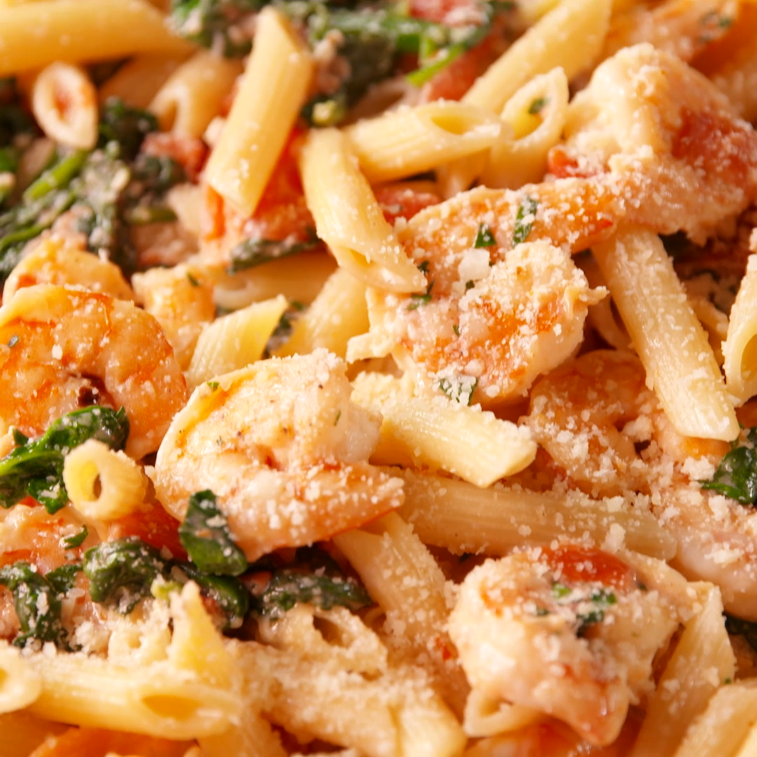 Tuscan Shrimp Penne – Yummy drinks