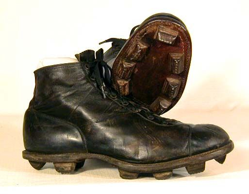 early 1900's Football Shoes with