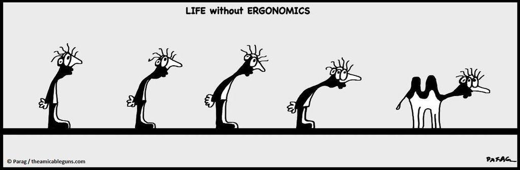 Life without ERGONOMICS by TheAmicableGuns.deviantart.com on @DeviantArt