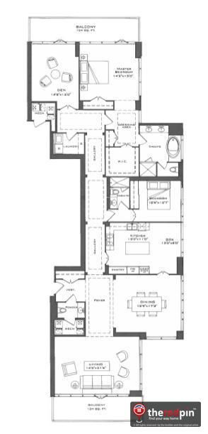 One Bedford At Bloor Floor Plans Craftsman Floor Plans Canadian House